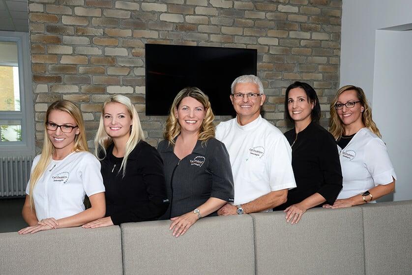 photo équipe denturologie desbiens